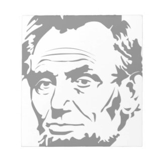 Abraham Lincoln Notizblock