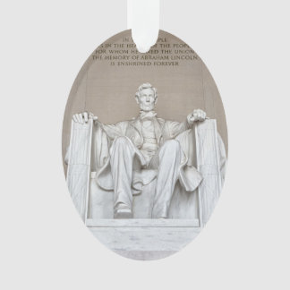 Abraham Lincoln-Statue Ornament