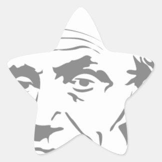 Abraham Lincoln Stern-Aufkleber