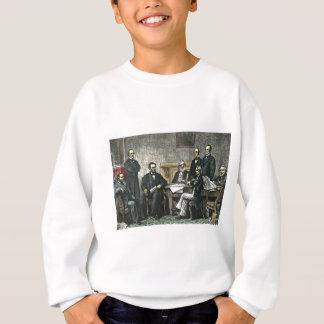 Abraham Lincoln und sein Kabinett Sweatshirt