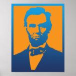 Abraham- LincolnPop-Kunst Poster