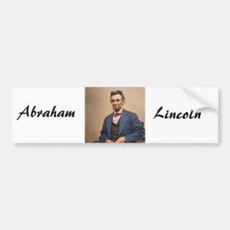 Abraham Lincolon Autoaufkleber