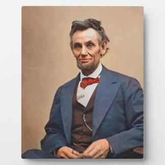 Abraham Lincolon Fotoplatte