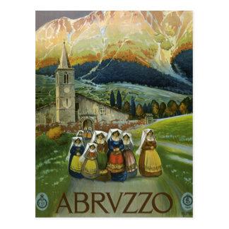 Abruzzo Postkarte