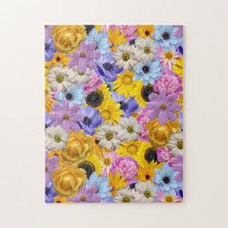 Abscheulicher Blumenstrauß-Puzzle Puzzle