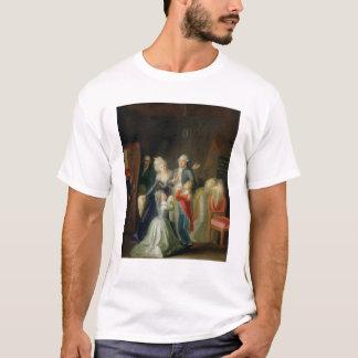 Abschied zu Louis XVI durch seine Familie T-Shirt