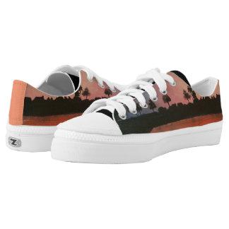 Abschiedskuss-Damen-Turnschuhe Niedrig-geschnittene Sneaker