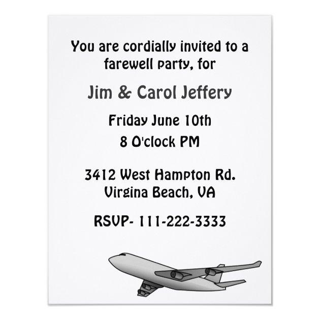 abschiedsparty einladung | zazzle, Einladungen