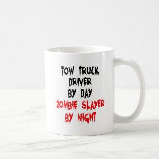 Abschleppwagen-Fahrer-ZombieSlayer Kaffeetasse