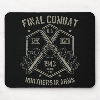 Abschließende Kampf-Brüder in Arm-Weltkrieg 1943 2 Mauspads