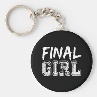 Abschließender Mädchen-Druck 2 Schlüsselanhänger