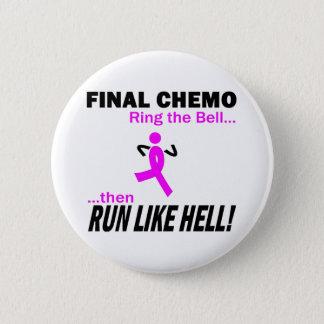 Abschließendes Chemo lassen sehr viel - Brustkrebs Runder Button 5,1 Cm