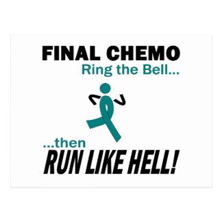 Abschließendes Chemo lassen sehr viel - Postkarte