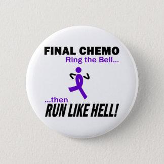 Abschließendes Chemo lassen sehr viel - violettes Runder Button 5,1 Cm