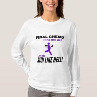 Abschließendes Chemo lassen sehr viel - violettes T-Shirt