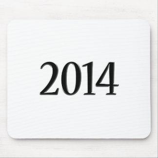 Abschluss 2014 schwarzer 3D Mousepad