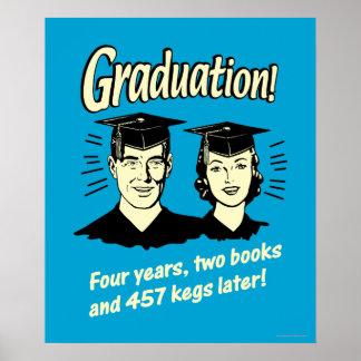 Abschluss: 4 Jahre, 2 Bücher Poster