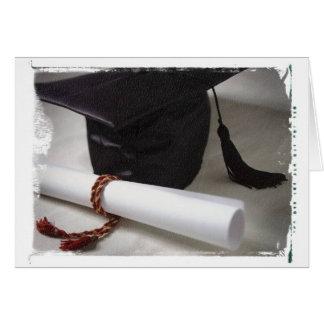 Abschluss-Anmerkungs-Karte Mitteilungskarte