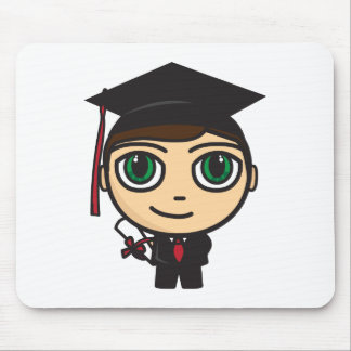 Abschluss-Charakter Mousepad