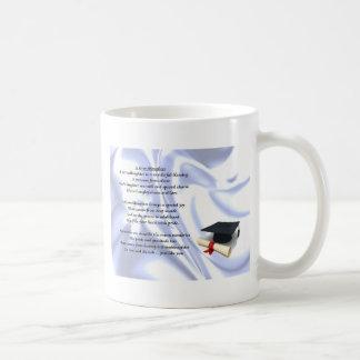 Abschluss-Enkelin Kaffeetasse