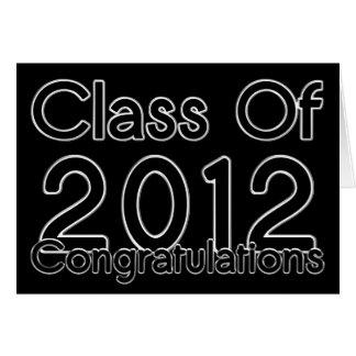 Abschluss-Glückwunsch-Karte 2012 Karte