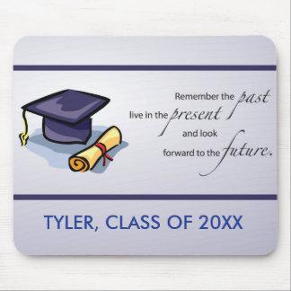 Abschluss-Glückwünsche erinnern sich die an Mauspads