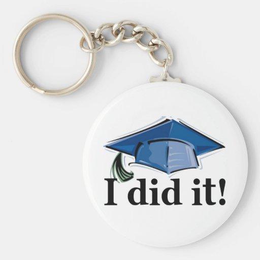 Abschluss I tat es! Schlüsselband