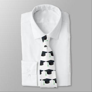 Abschluss-Kappe Krawatten
