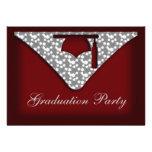 Abschluss-Kappen-Party Einladung