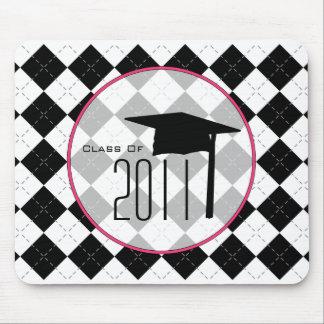 Abschluss-Klasse 2011 schwarzer Raute Mousepad