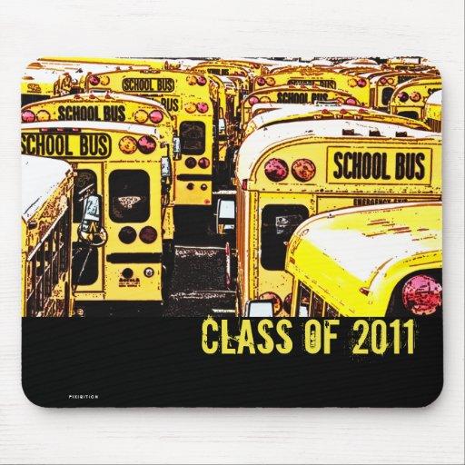 Abschluss-Klasse Busses des Schule2011 1 Mousepad