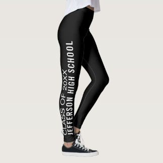 Abschluss-Klasse der Highschool 2018 Leggings