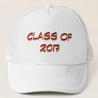 Abschluss-Klasse von 2017 Truckerkappe
