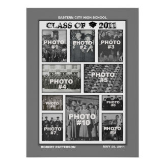 Abschluss-Klasse von Plakat 2011 der