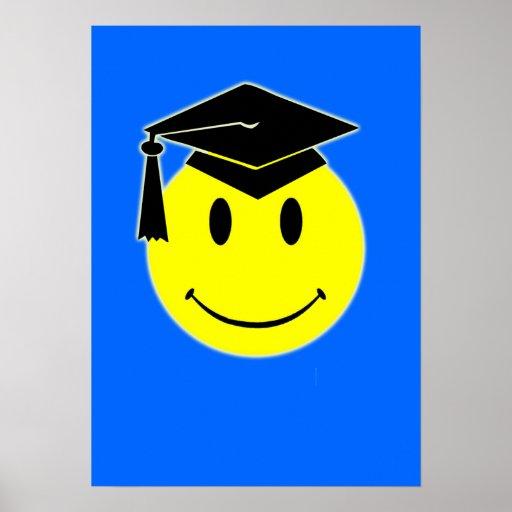 Abschluss-Lächeln-Plakat