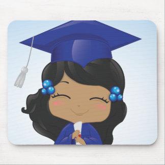 Abschluss-Mädchen Mauspads