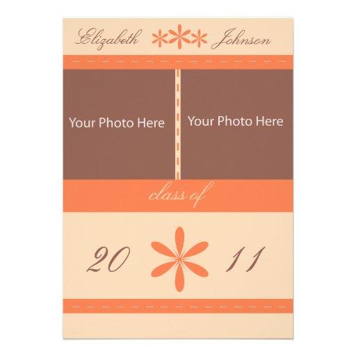 Abschluss-Mitteilungs-kundengerechtes Foto Invitat Individuelle Einladungen