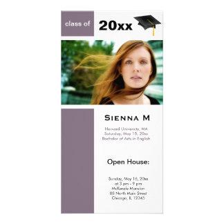 Abschluss-offenes Haus (Distel) Photokarten