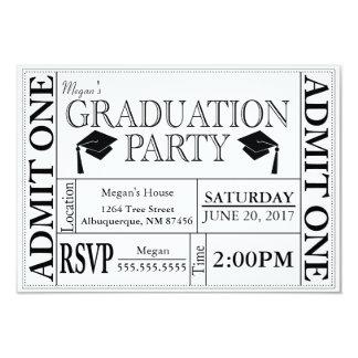 Abschluss-Party-Karten-Einladung Karte