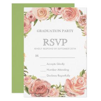Abschluss-Party UAWG   romantische 8,9 X 12,7 Cm Einladungskarte