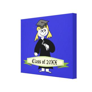 Abschluss-personalisierte Klasse von Leinwand Drucke