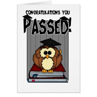 Abschluss/Prüfungen - Glückwunsch-Abschluss-PA Karte