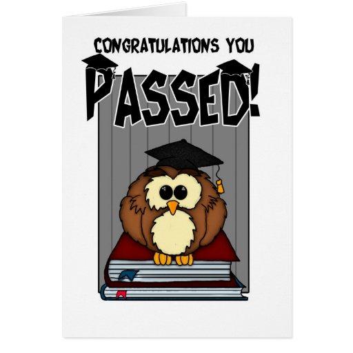 Abschluss/Prüfungen - Glückwunsch-Abschluss-PA Karten