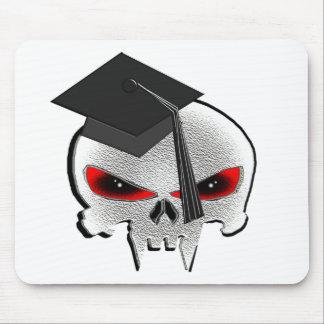 Abschluss-Schädel Mousepads