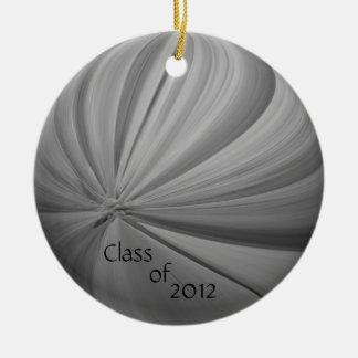 Abschluss-Verzierung 2012 Keramik Ornament
