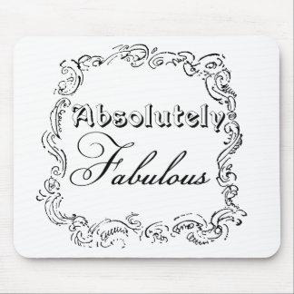 Absolut fabelhaftes Zitat Mousepads
