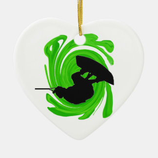 Absolute Luft Keramik Herz-Ornament