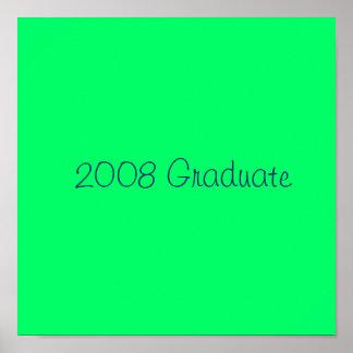 Absolvent 2008 - besonders angefertigt posterdrucke