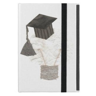 Absolvent-Birne Ich-Auflage Minikasten iPad Mini Hülle