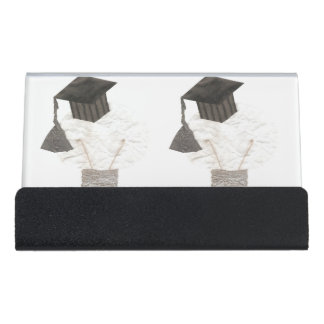 Absolvent-Birnen-Schreibtisch-Visitenkarte-Halter Schreibtisch-Visitenkartenhalter